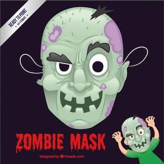 Zombie máscara