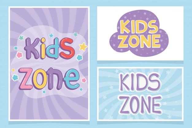 Zona infantil, área infantil