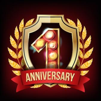 1 anno di anniversario