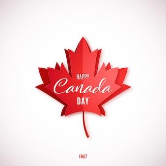 1 luglio, happy canada day.