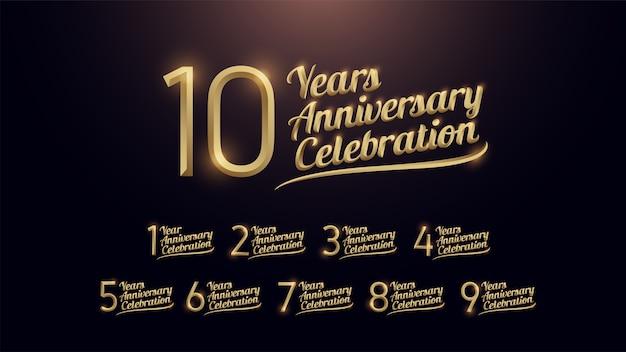 10 anni anniversario