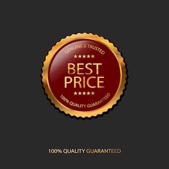 100% di qualità garantita, miglior prezzo distintivo
