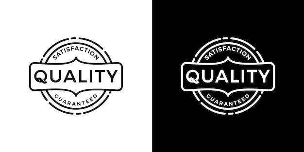 100% qualità garantita logo distintivo emblema logo design