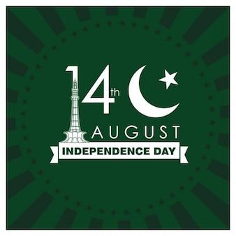 14 ° giorno di agosto in pakistan