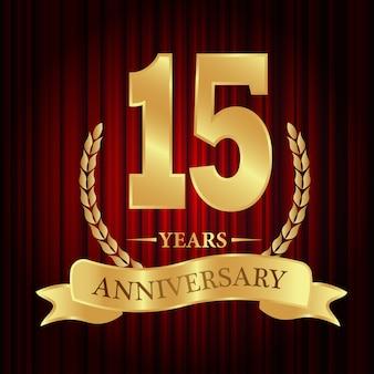 15 anni di anniversario