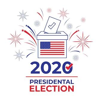 2020 elezioni presidenziali americane concetto