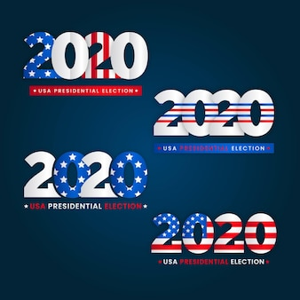 2020 logo delle elezioni presidenziali americane