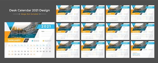 2021 calendario da tavolo, agenda delle date