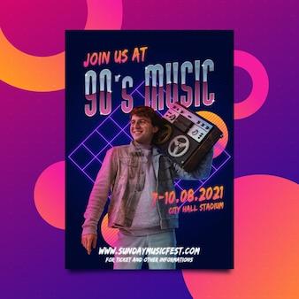 2021 poster dell'evento musicale
