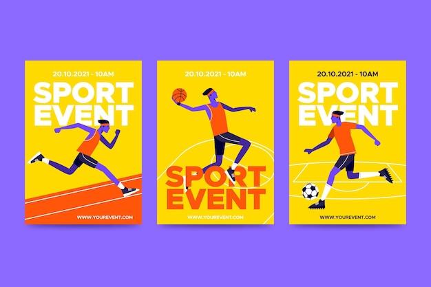 2021 poster di eventi sportivi
