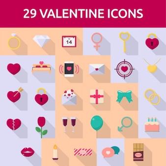 29 valentine icone