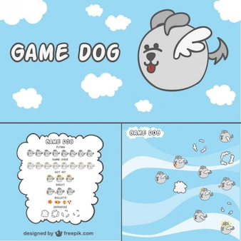 2d game carattere del cane