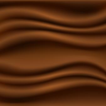 3 d realistico sfondo di cioccolato