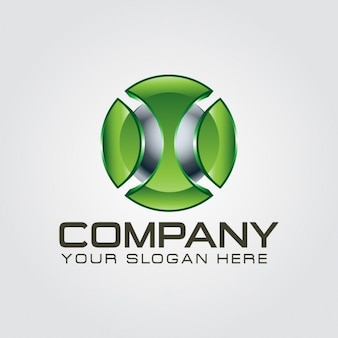 3d lettera x logo