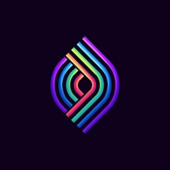 3d logo, modello, illustrazione
