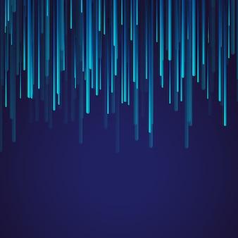 3d memphis con il fondo delle barre cadenti di effetto della luce
