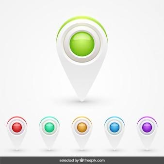 3d pointer collezione colorata