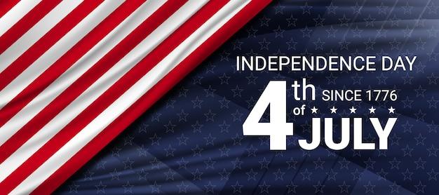 4 luglio festa dell'indipendenza degli stati uniti. celebrazioni del giorno dell'indipendenza negli stati uniti d'america.