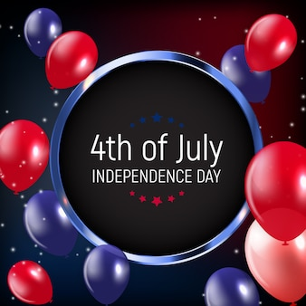 4 luglio, giorno dell'indipendenza degli stati uniti