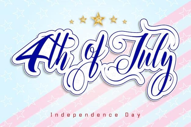 4 luglio giorno dell'indipendenza degli stati uniti
