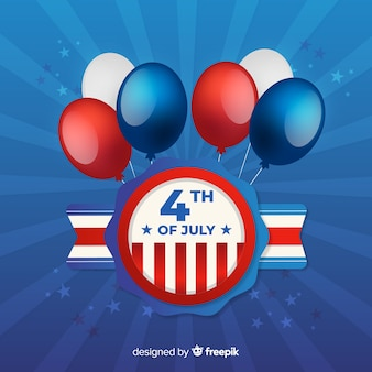 4 luglio - sfondo del giorno dell'indipendenza