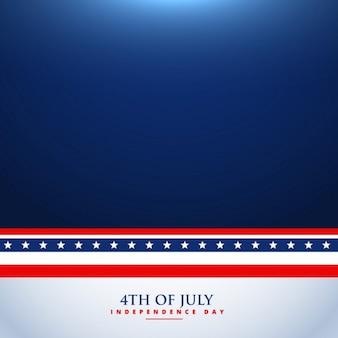 4 luglio sfondo illustrazione
