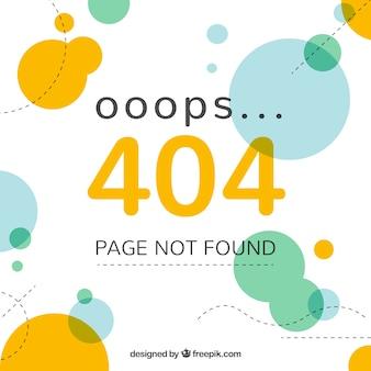 404 concetto di errore