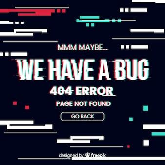 404 errore di sfondo