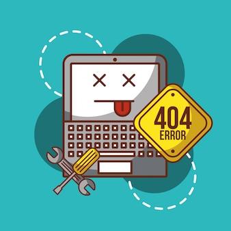 404 pagina di errore non trovata
