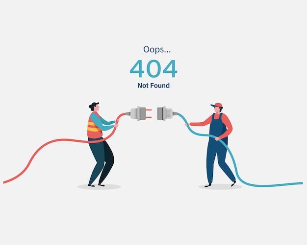 404 pagina di errore non trovata.