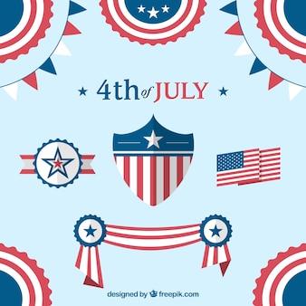 4th of july decorazione