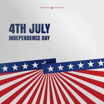 4th of july sfondo libero template