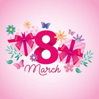 8 marzo illustrazione