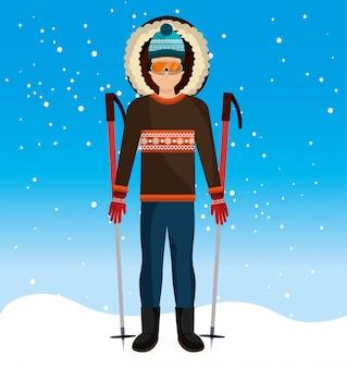 Abbigliamento e accessori moda invernale