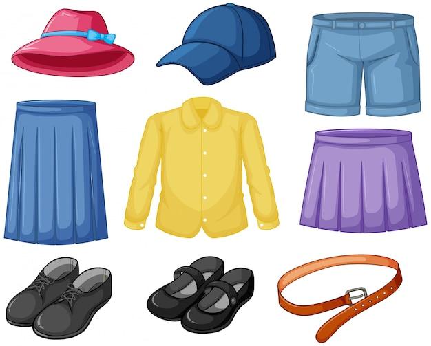 Abiti da indossare elementi
