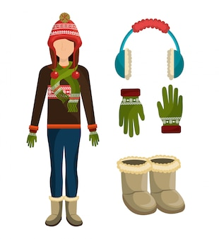 Abiti e accessori moda invernale