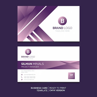 Abstrack business card design