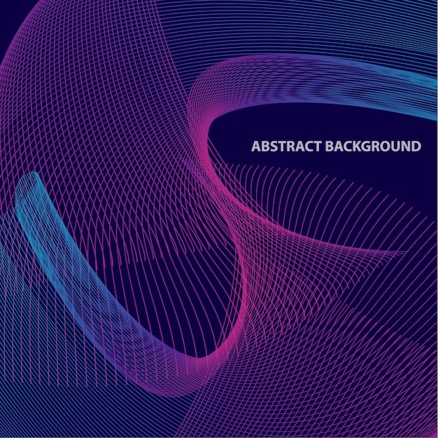 Abstrack mix line background