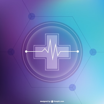 Abstract background medico gratuito