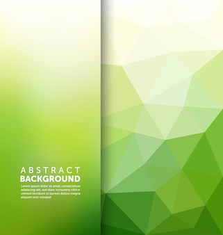 Abstract background poligonale