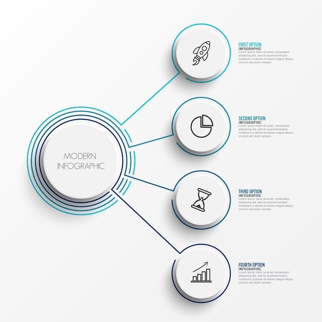 Abstract del modello infografica