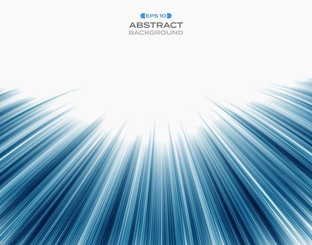 Abstract della tecnologia blu velocità striscia modello di linea.