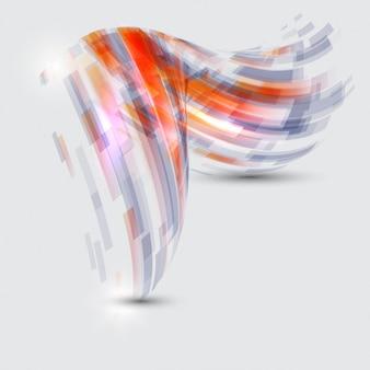 Abstract forma sfondo