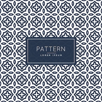 Abstract pattern stile islamico