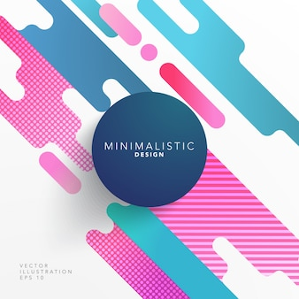 Abstract shape cover design