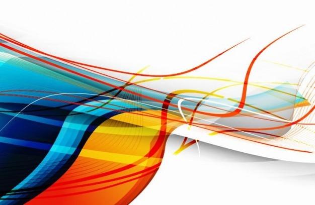 Abstract vector arte sfondo