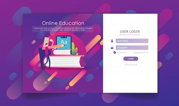 Accedi al design della pagina