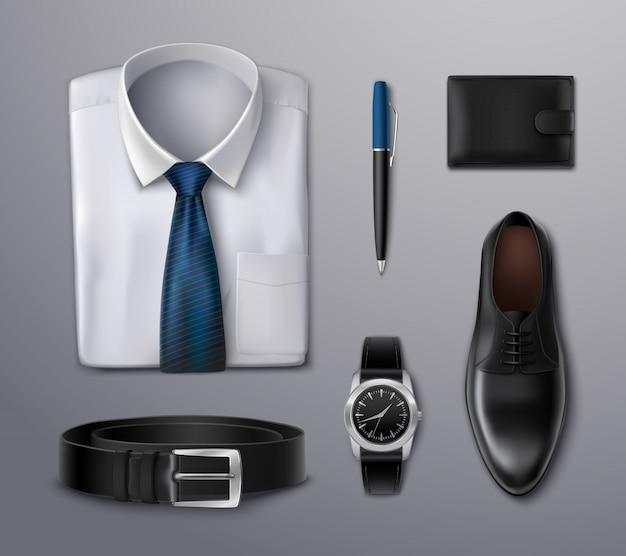 Accessori abbigliamento uomo d'affari