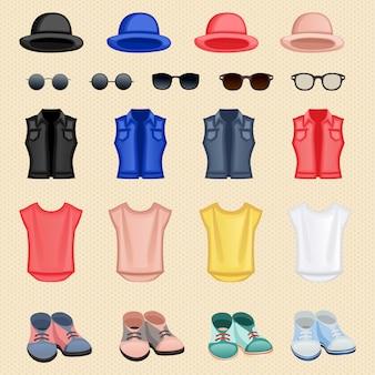 Accessori per ragazza hipster