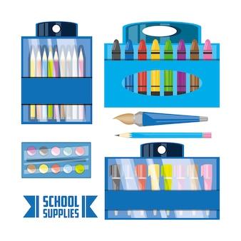 Accessori per strumenti scolastici per studiare educazione